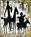 Don Quichotte und Sancho Pansa