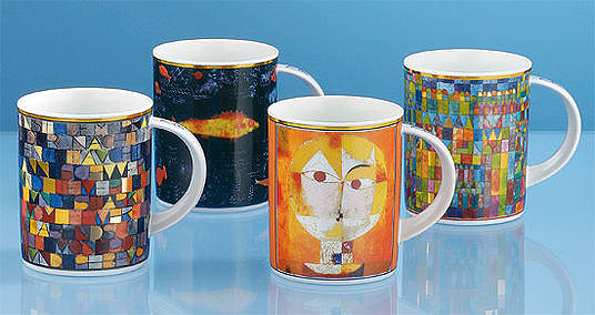 Set Kaffeebecher Paul Klee